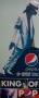 BAD 25 Anniversary Pepsi *Smooth Criminal Leaning* Promo 6 Feet Stand-up (USA)