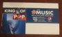 "BAD 25 Limited Edition ""King Of Pop"" 16 Oz. Pepsi Promo Small Store Display (USA)"