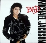 BAD Album Signed By Michael #4 (1987)