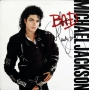 BAD Album Signed By Michael #5 (1987)