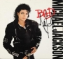 BAD Album Sleeve Signed By Michael (1987)
