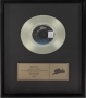 BAD Epic Records Gold Award For The Sale Of 500,000 Copies Of The Single In USA