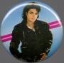 """BAD Era Official 1 1/4"""" Button *BAD LP Cover* (USA)"""
