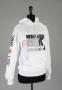 BAD Era White Sweatshirt Signed By Michael (1988)