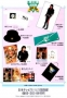 BAD Japan Tour '87 Official Merchandise Promo Flyer (Japan)