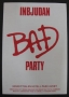 BAD LP Party Invitation in Gotheburg (Sweden)