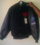 BAD LP Promotional Epic Black Leather/Wool Jacket (USA)