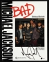 BAD Original Sheet Music Signed By Michael (1987)