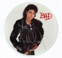 BAD Picture Disk Signed By Michael (1987)