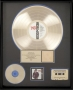 BAD RIAA Gold Award To Epic For The Sale Of 500,000 Copies Of The Album In USA