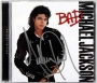 BAD Special Edition CD Album Signed By Michael (2001)