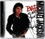 BAD Special Edition CD Album Signed By Michael #3 (2001)