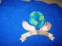 Dangerous World Tour 1992/93 Signed Prototype Blue 'Heal The World' Logo Robe (USA/Japan)