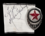 White Armband Signed By Michael (1990s)