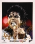 BAD Tour Close Up Colour Promo Photo Signed By Michael (1988)