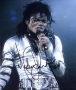 BAD Tour Photo Signed By Michael #3 (1988)