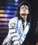 BAD Tour Photo Signed By Michael #4 (1988)