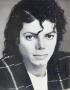 BAD Tour Program Single Page Signed By Michael *Plaid Jacket* (1987)