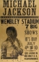 BAD Tour Wembley Stadium Signed Original Concert Poster (1988)