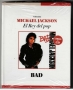 BAD *El Rey Del Pop/El Comercio Magazine* Official Limited Book+CD Set (Perù)