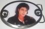 "Michael Jackson ""Bad Photo"" Belt Buckle"