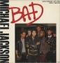 """Bad (5 Mixes) Commercial 12"""" Single (Holland)"""