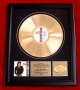 Bad Gold AAM Award For 100,000 Copies Sold - Presented To MJJ Productions Inc. (USA)