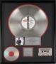 Bad RIAA Platinum Award To Michael Jackson For 1 Million Sales In USA