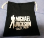 Bad Tour Japan '88 Official Black Cotton Drawstring Bag (Japan)
