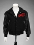 Bad Tour '88 Crew Wool/Leather Kid Jacket (USA)
