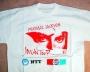 Bad Tour '87 'Guard' White T-shirt  (Japan)