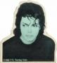 Bad Tour '88 Official 'Matthew Rolston Photo Shoot'  Button (Europe/USA)