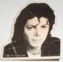 "Bad Tour '88 Official ""Plaid Jacket"" 2"" Square Button (Europe/USA)"