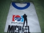 Bad Tour '88 Pepsi Promotional White T-shirt (Japan)