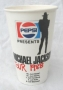 Bad Tour '88 Pepsi Paper Cup (Germany)