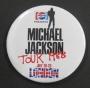 Bad Tour '88 Promo Pepsi Round Button - London/Wembley Stadium July 20-23 (England)