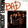 "Bad (3 Mixes) Commercial 12"" Single (UK)"