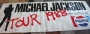Bad World Tour '88 Promo PVC Banner (UK)