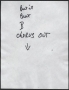 Beat It Partial Handwritten Lyrics (1982)