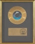 Beat It RIAA Gold Record For The Sale Of 1 Million Copies Of The 7