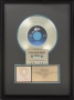 Beat It RIAA Gold Award For The Sale Of 500,000 Copies Of The Single In USA #2