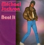 "Beat It Commercial 7"" Single (Italy)"