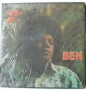 Ben *Non Rat Cover* Commercial LP Album (Philippines)