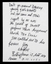 Billie Jean Partial Handwritten Lyrics (1982)