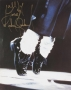 Billie Jean Performance Toe Stand Photo Signed By Michael Jackson (Date Unknown)