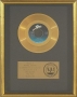 Billie Jean RIAA Gold Record Award For The Sale Of 1 Million Copies Of The 7