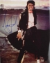 Billie Jean Video Photograph Signed By Michael #2 (1983)