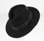 Black Fedora Owned & Signed By Michael *Gifted To President Bush* (1990)