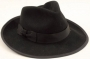 Black Fedora Worn By Michael *Golden Gate Hats* (USA)