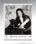 """Black Or White Promotional """"Panther"""" Photo Signed By Michael *To Bob* (1991)"""